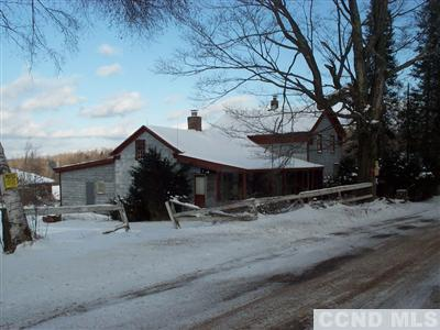 19th c. farmhouse on a quiet road in Schoharie County, N.Y.