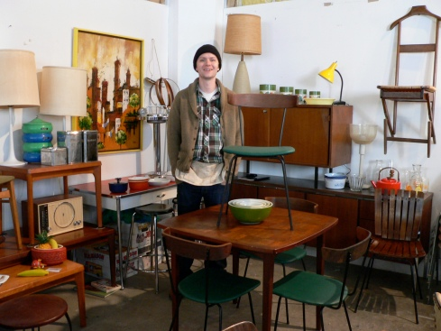 Meet Jeremy Hollingworth of Severely Vintage and his mid-century modern furniture