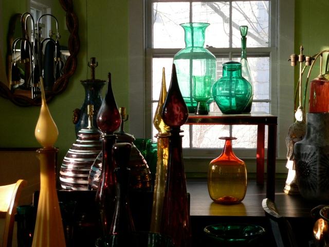 Blenko glass at Neo-Studio on Madison Street