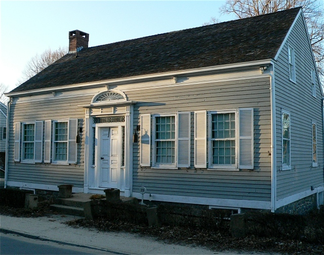 One of many Colonial era houses