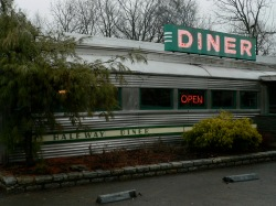 1920s stainless diner on Rt 9