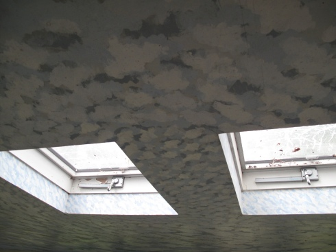 Randall Rosenthal, a well-known artist who lives across the road, painted my porch ceiling, I'm told