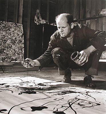 Jackson Pollock's home and studio are down the road