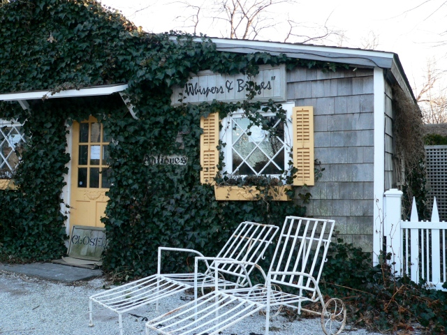Sag Harbor (it's an antiques store, so can be excused)