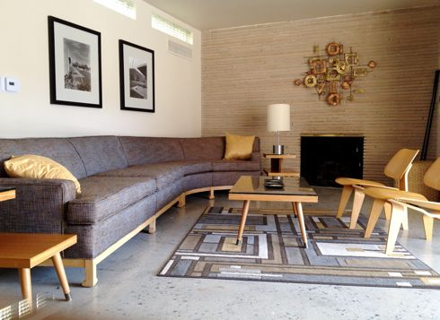 1950s interior design modern furniture of the 1950s