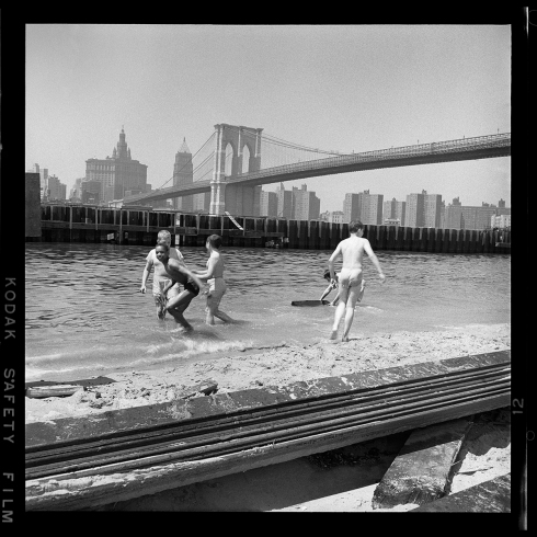 19-Swimming East River